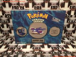 www.nintendo-collection.com - Gameboy Advance SP Super Pack Collector Pokemon Version Saphir - 01