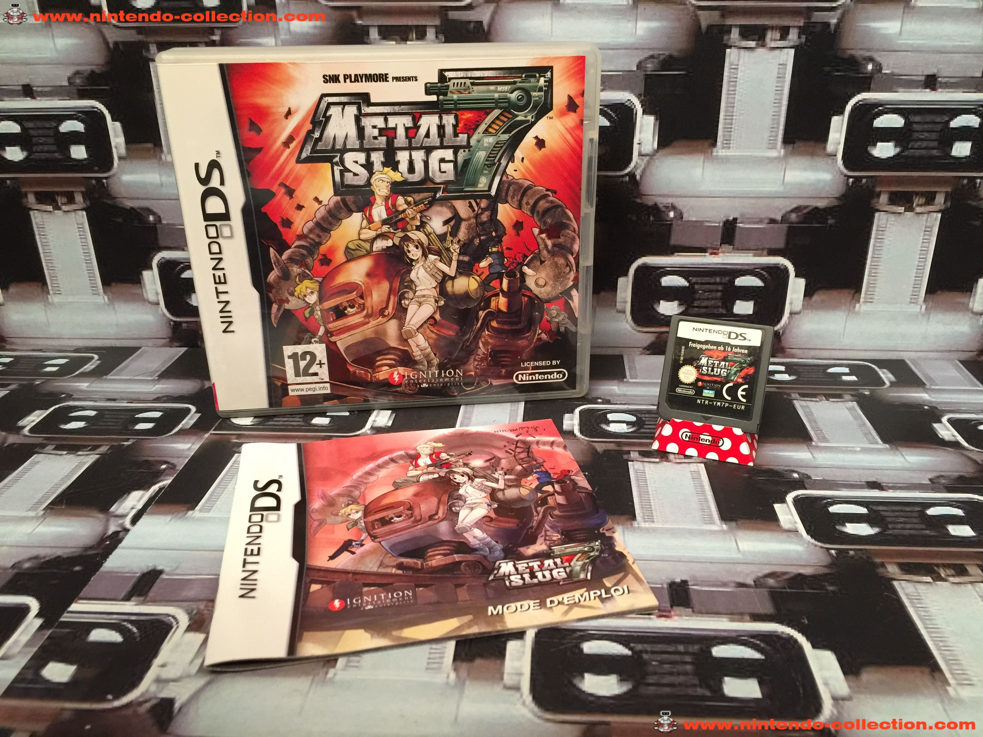www.nintendo-collection.com - Nintendo DS Jeux Game Metal Slug 7 euro