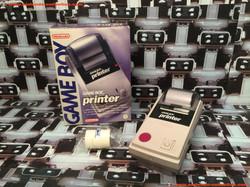 www.nintendo-collection.com - GameBoy Printer Pocket Printer Imprimante European Version Europe