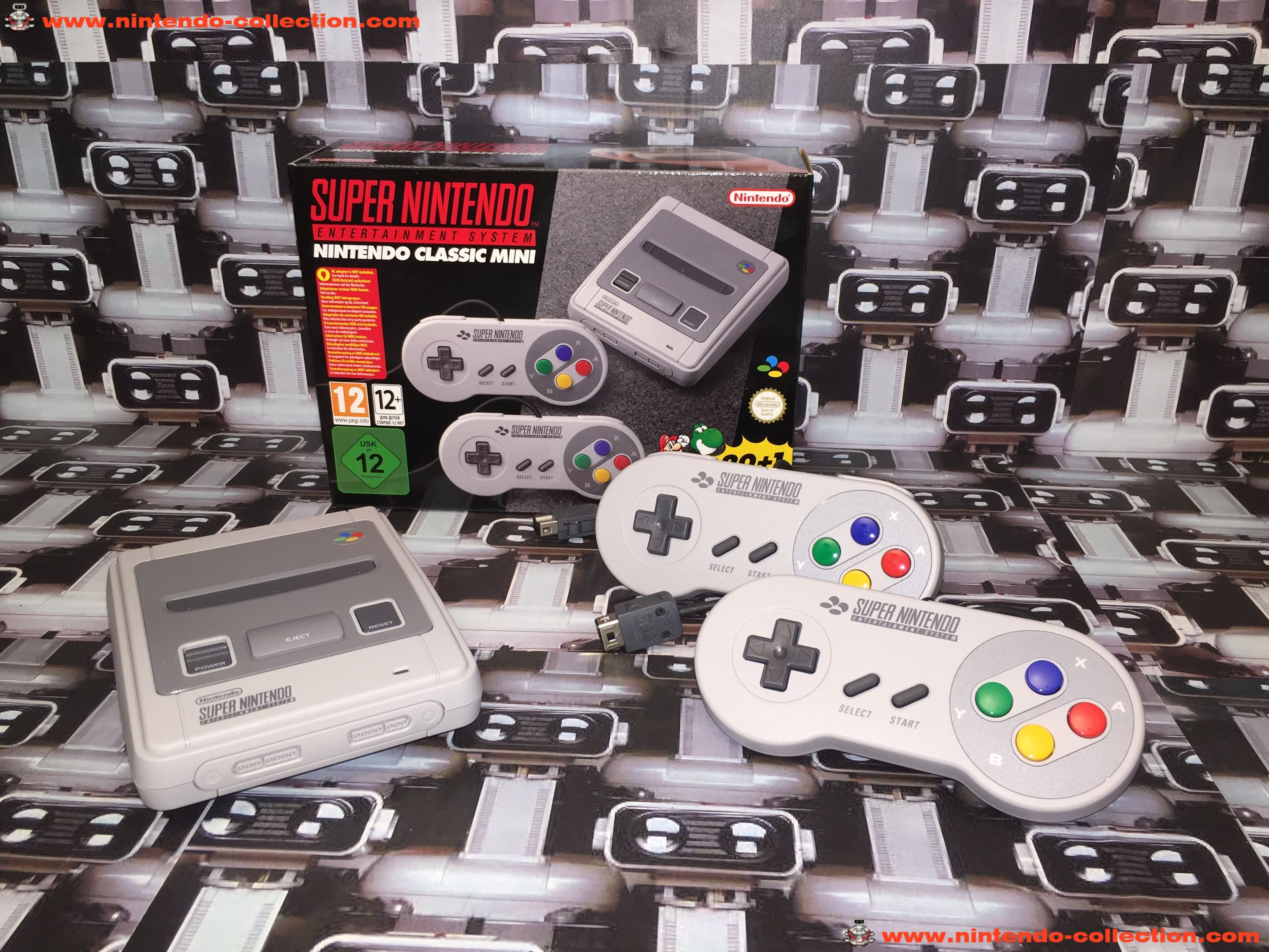 www.nintendo-collection.com - Nintendo Classic Mini Super Nes SNES Super Nintendo Entertainment syst