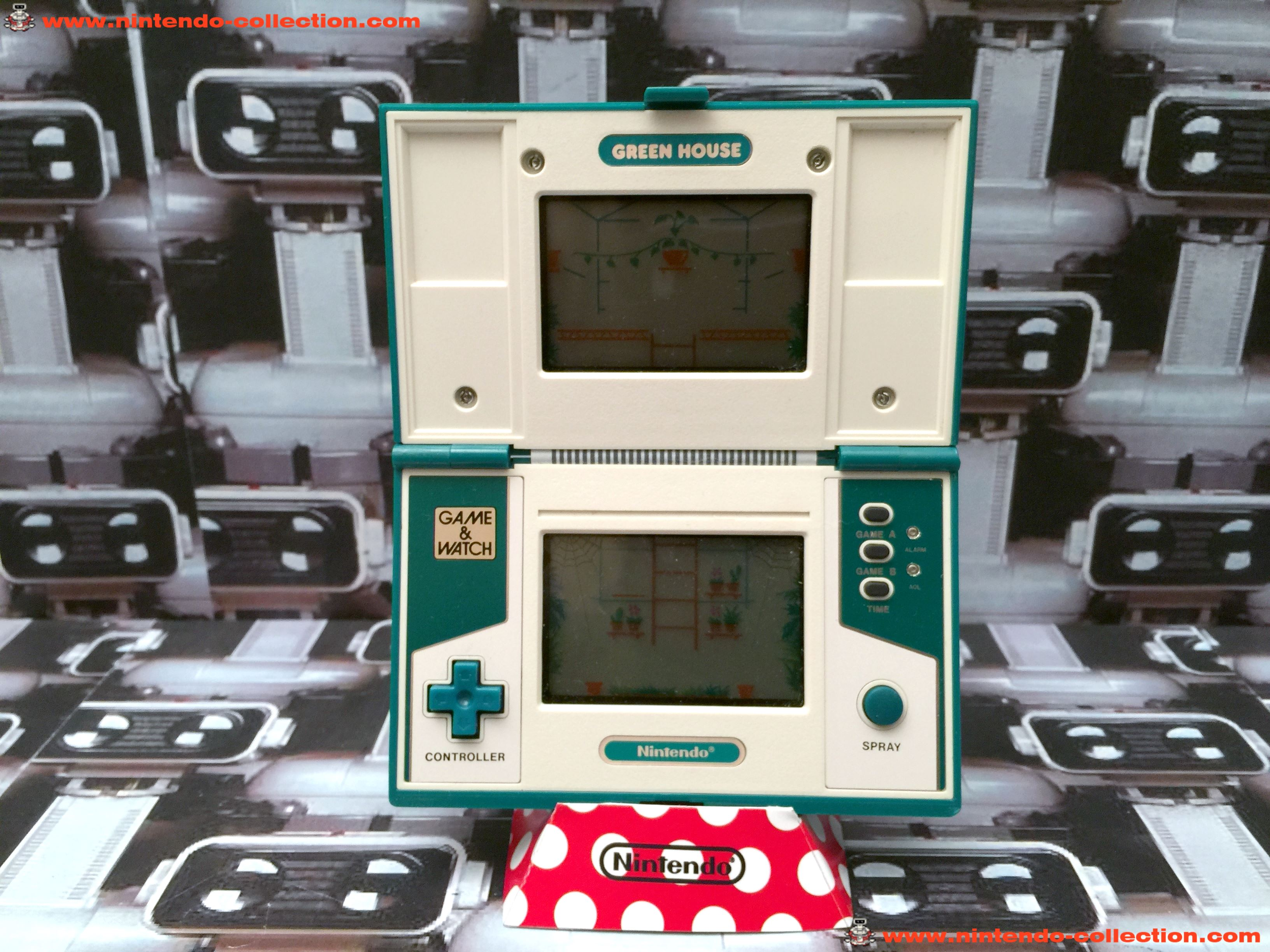www.nintendo-collection.com - Game & Watch Multi Screen Green House - 02