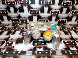 www.nintendo-collection.com - Gamecube controller manette  clear transparent