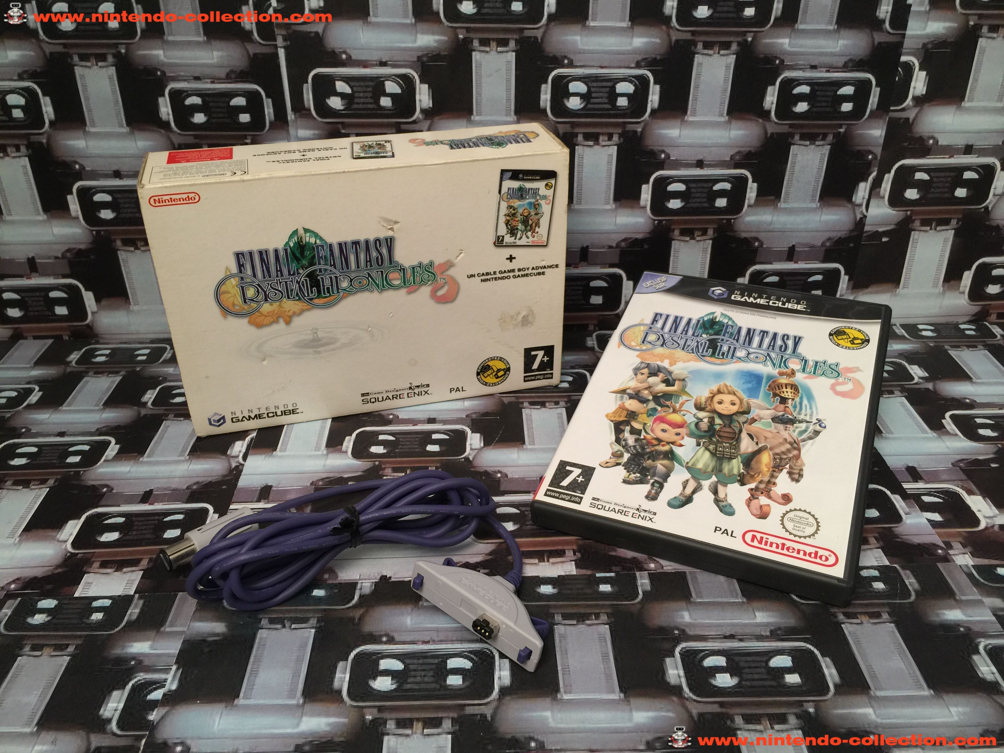 www.nintendo-collection.com - Gamecube Game Jeu Final Fantasy Chrystal Chronicles Limited Edition GB