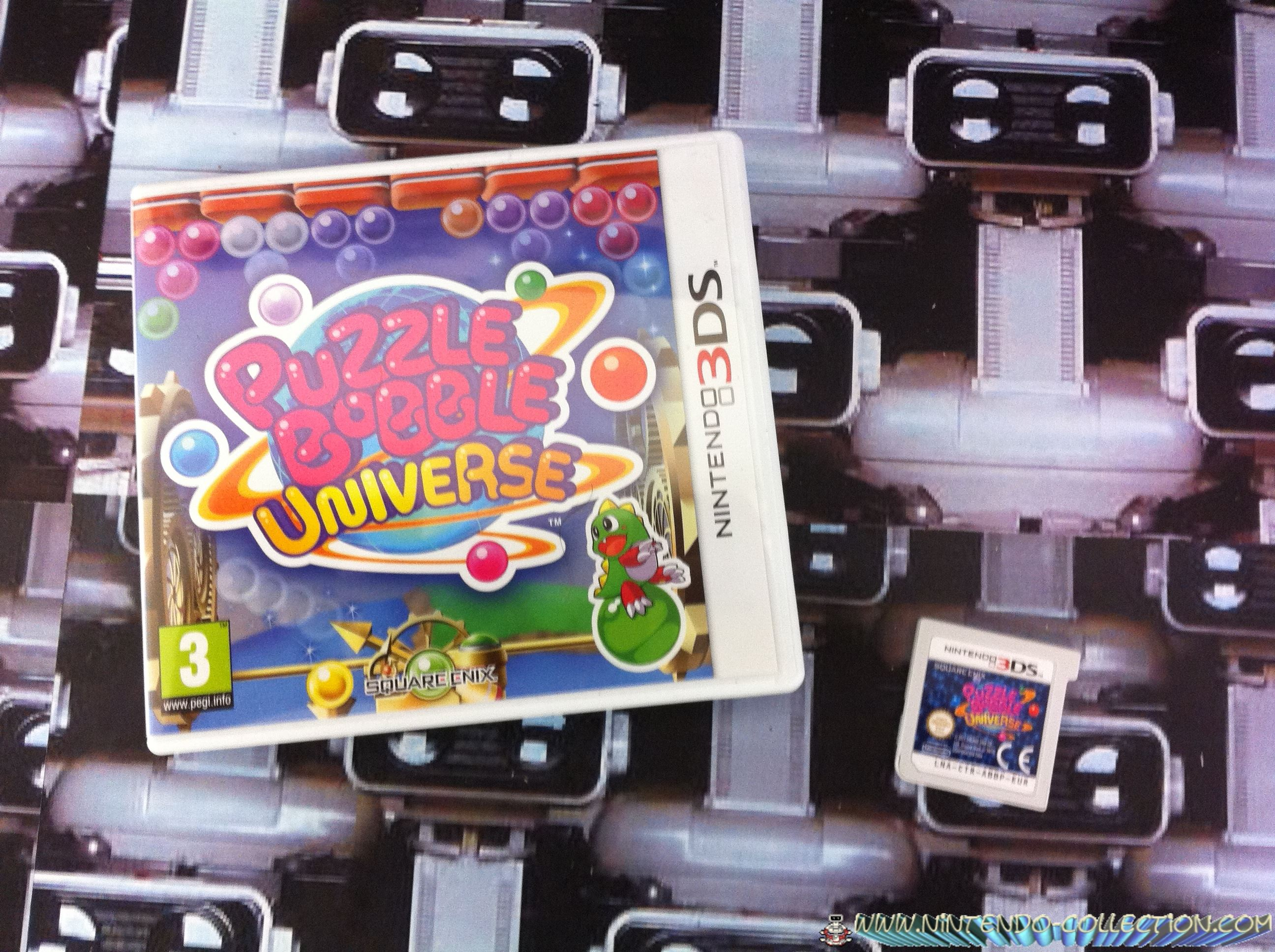 www.nintendo-collection.com - Puzzle Bobble Universe 3DS