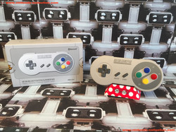 www.nintendo-collection.com - Nintendo Switch 8Bitdo SF30 Bluetooth Gamepad controller Manette