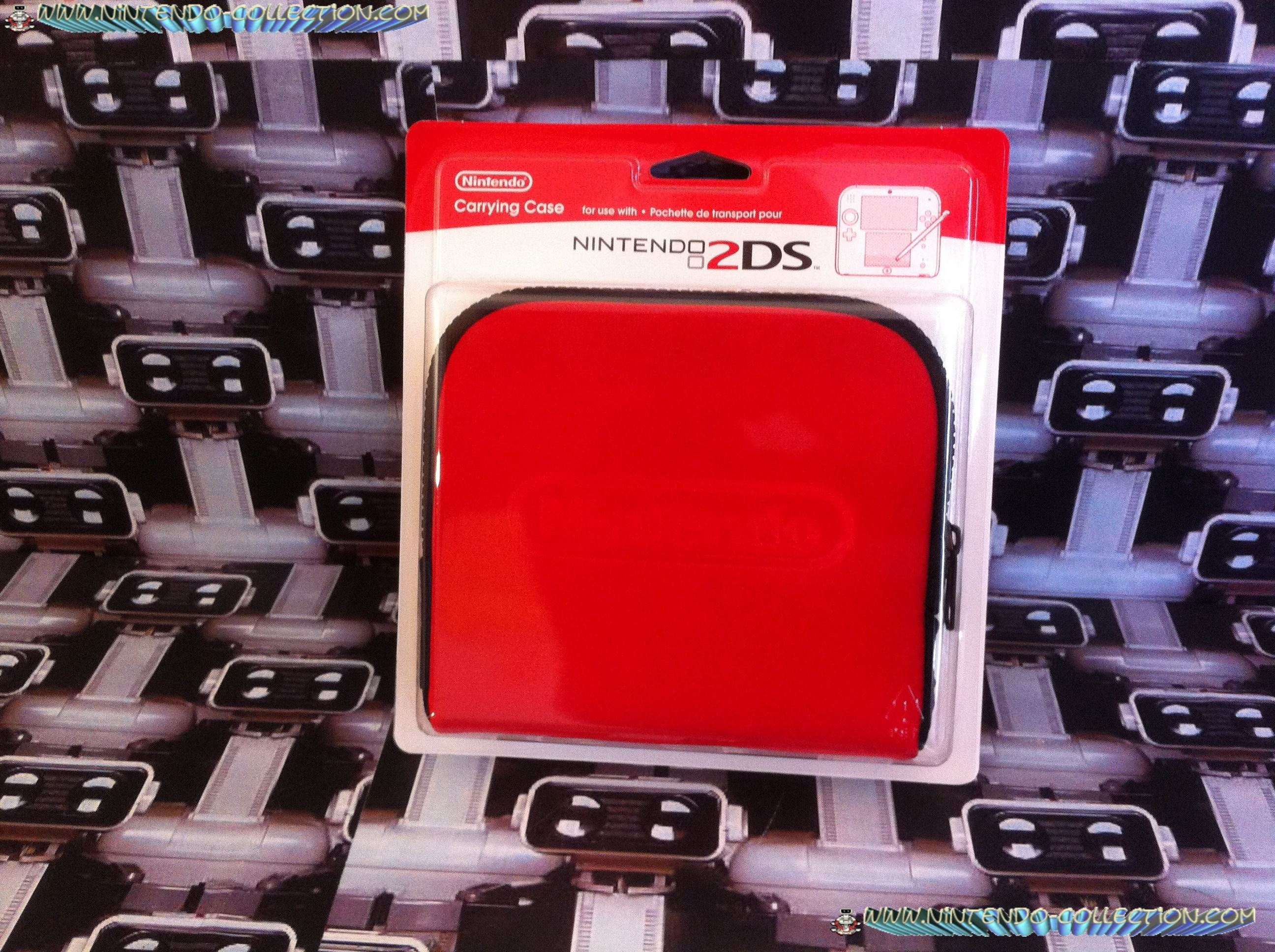 www.nintendo-collection.com - Nintendo 2DS Housse Red Rouge
