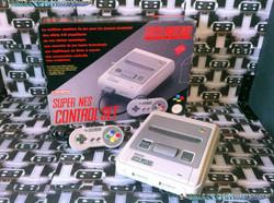 www.nintendo-collection.com - Super Nintendo Super Famicom Super Nes Pack Control Set