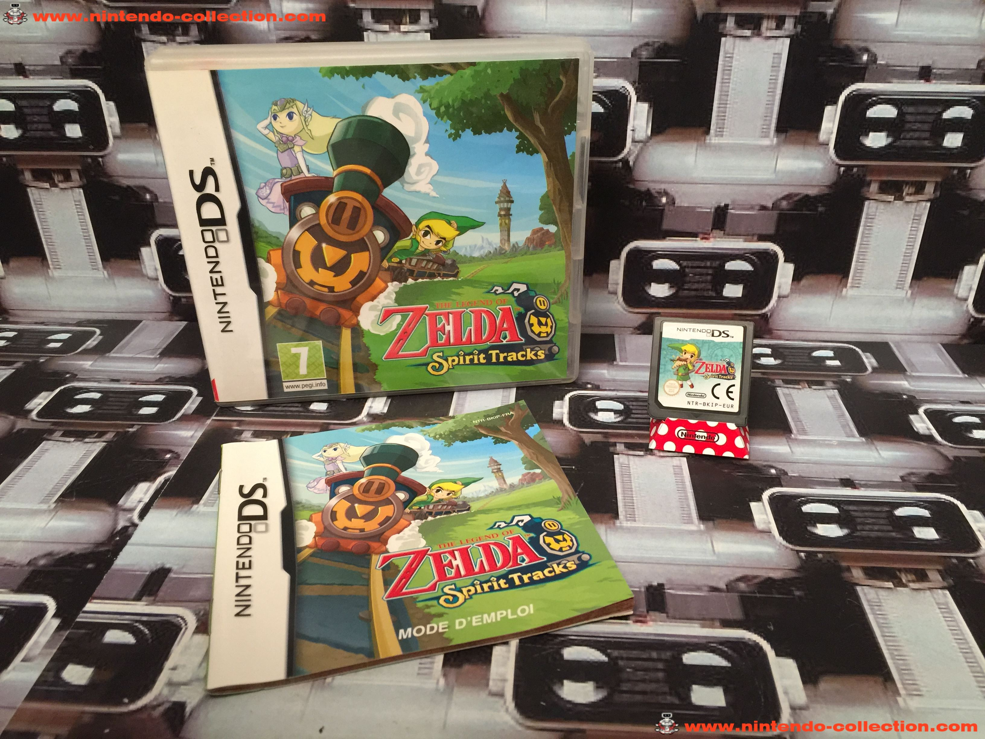 www.nintendo-collection.com - Nintendo DS Jeux Game The Legend of Zelda Spirit Tracks Euro