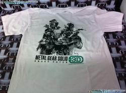 www.nintendo-collection.com - Tee-Shirt de pre-reservation de Metal Gear Solid Snake Eater 3D - Nor