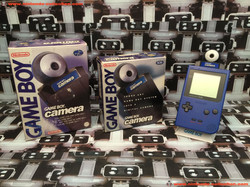 www.nintendo-collection.com - GameBoy Pocket + GameBoy Camera Blue Bleu UK Version Royaume-Uni + Eur