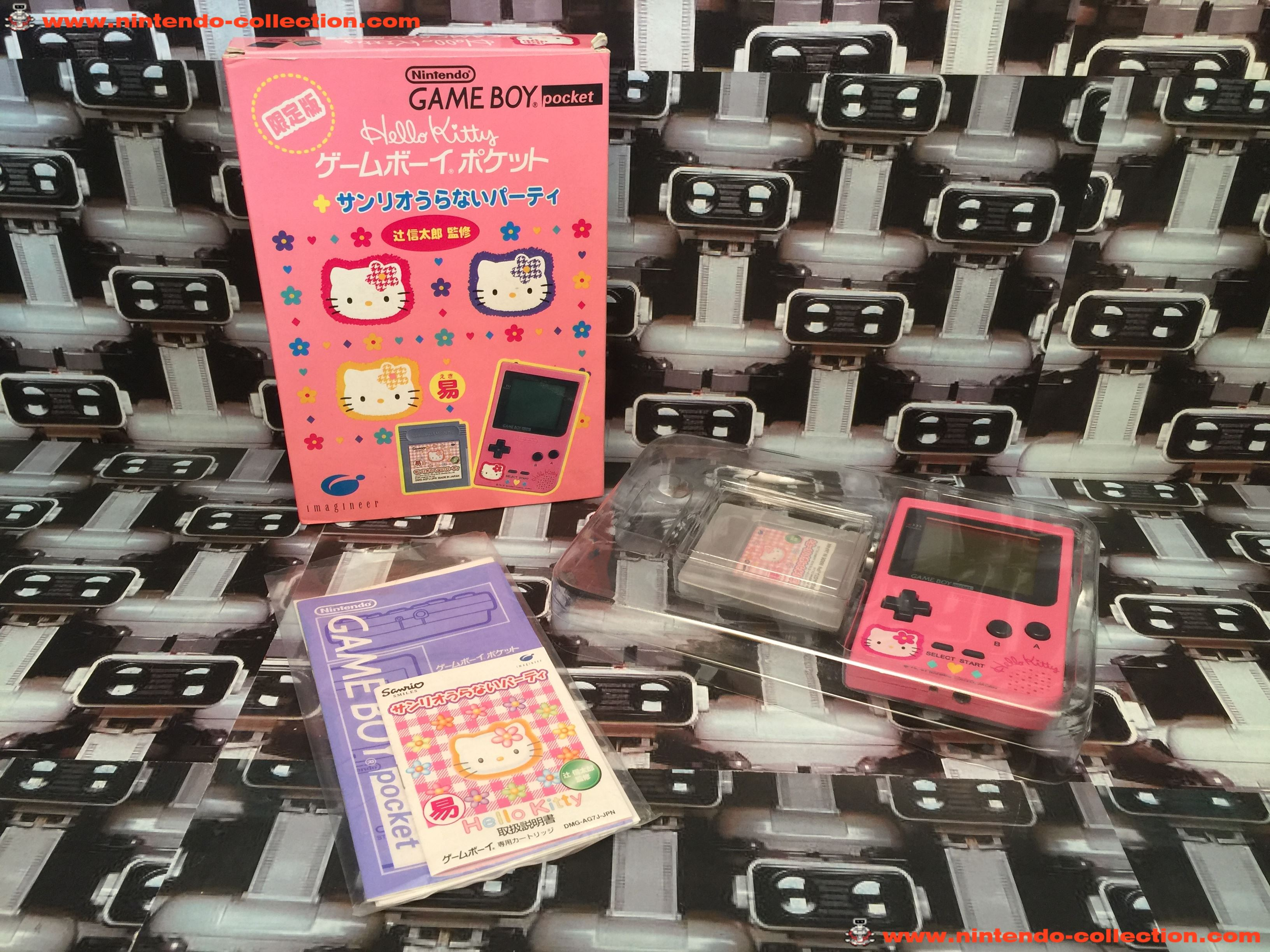 www.nintendo-collection.com - Gameboy GB Hello Kitty Limited Edition Japan - 01