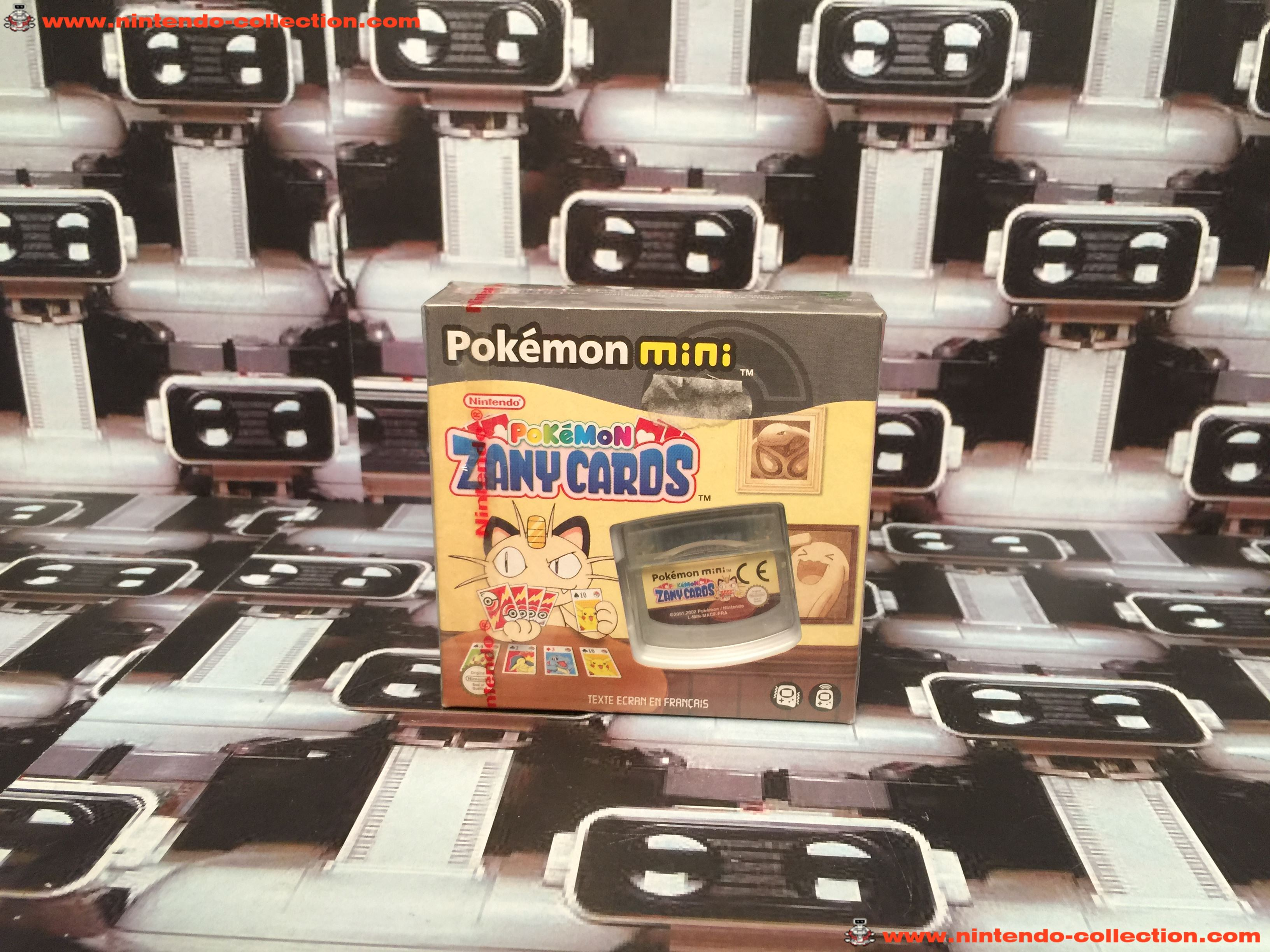 www.nintendo-collection.com - Mini Nintendo Pokemon Mini Pokemon Zany Cards