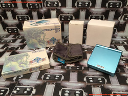 www.nintendo-collection.com - Gameboy Advance GBA SP Sword of Mana Blue Limited Edition Electric Blu