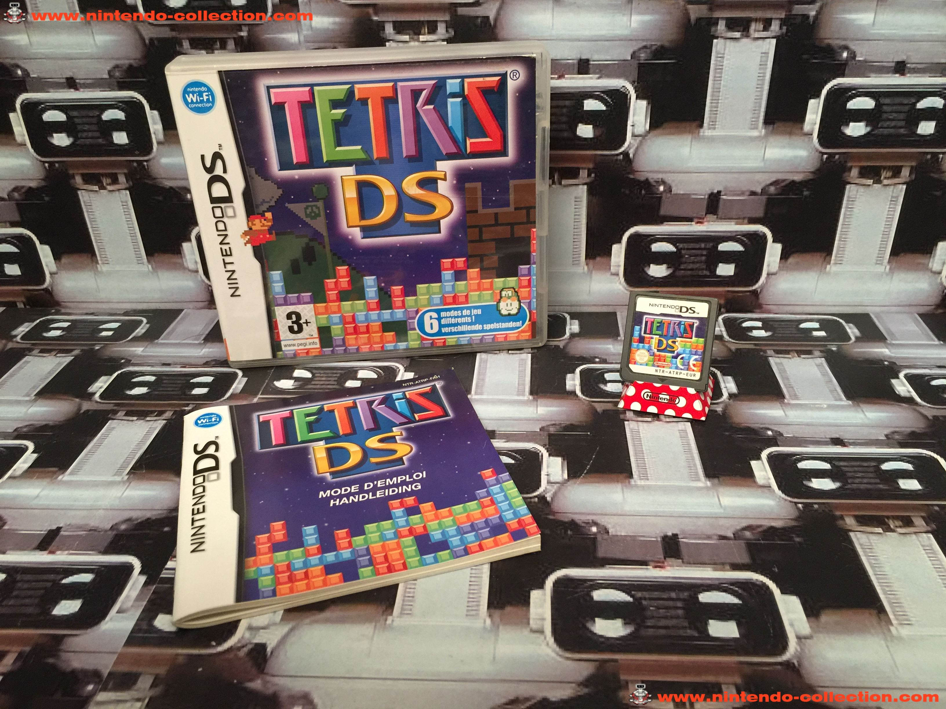 www.nintendo-collection.com - Nintendo DS Jeux Game Tetris DS Euro