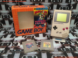www.nintendo-collection.com - Gameboy GB Pack Orange Mario & Yoshi + Tetris