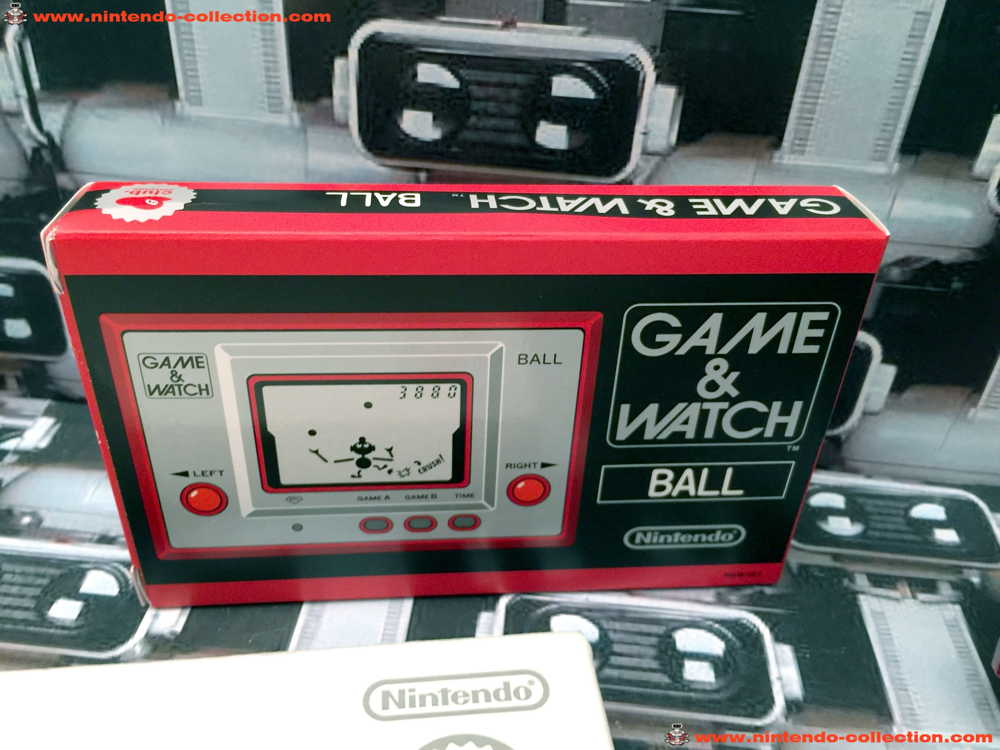 www.nintendo-collection.com - Game & Watch Silver Series Ball Club Nintendo 2009 Japan Japon - 04