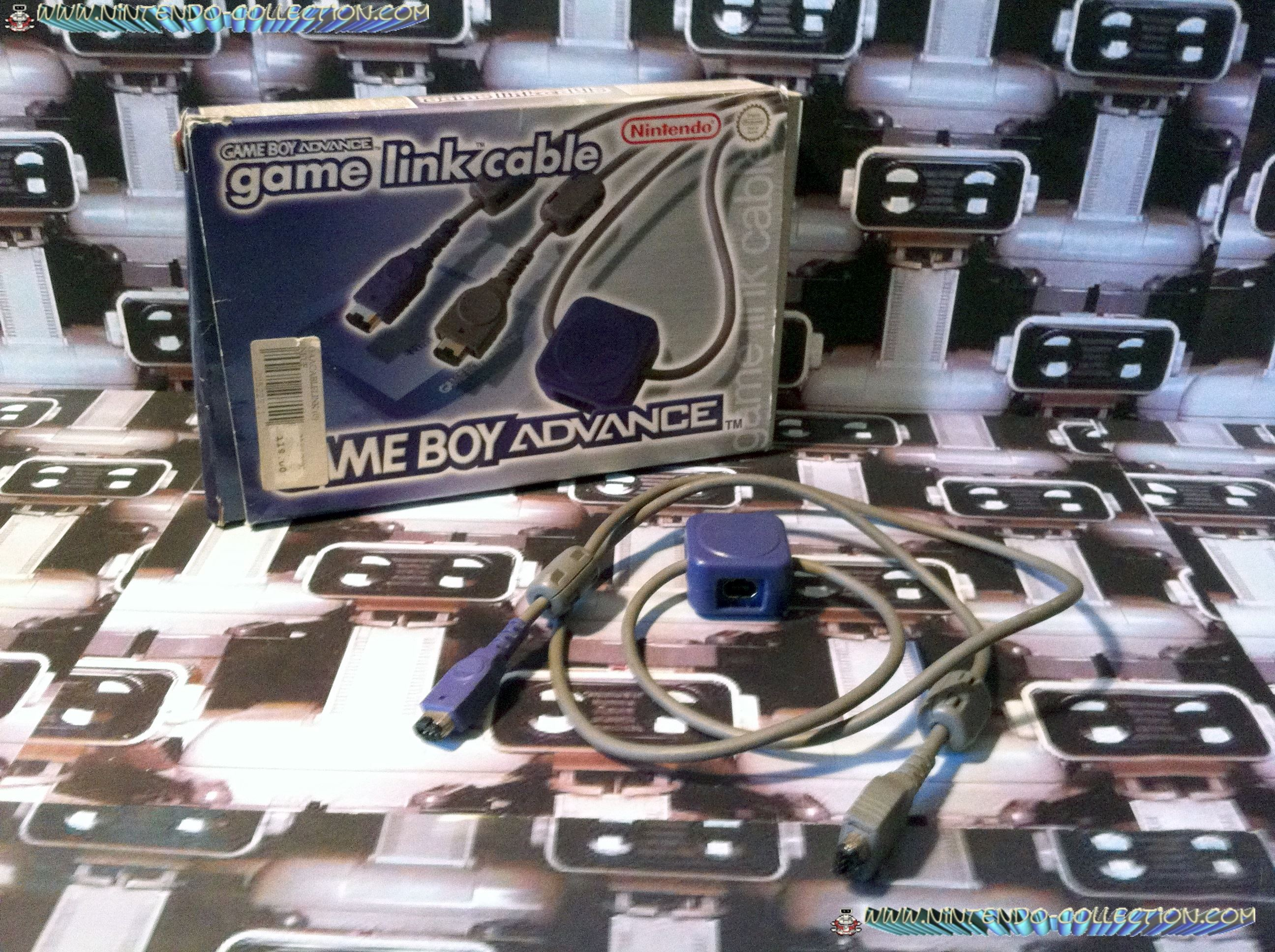 www.nintendo-collection.com - Gameboy Advance SP Accessory Accessoire Cable Link Game Link