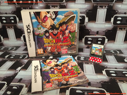 www.nintendo-collection.com - Nintendo DS Jeux Game Dragon Ball Z Attack Of The Saiyans Euro