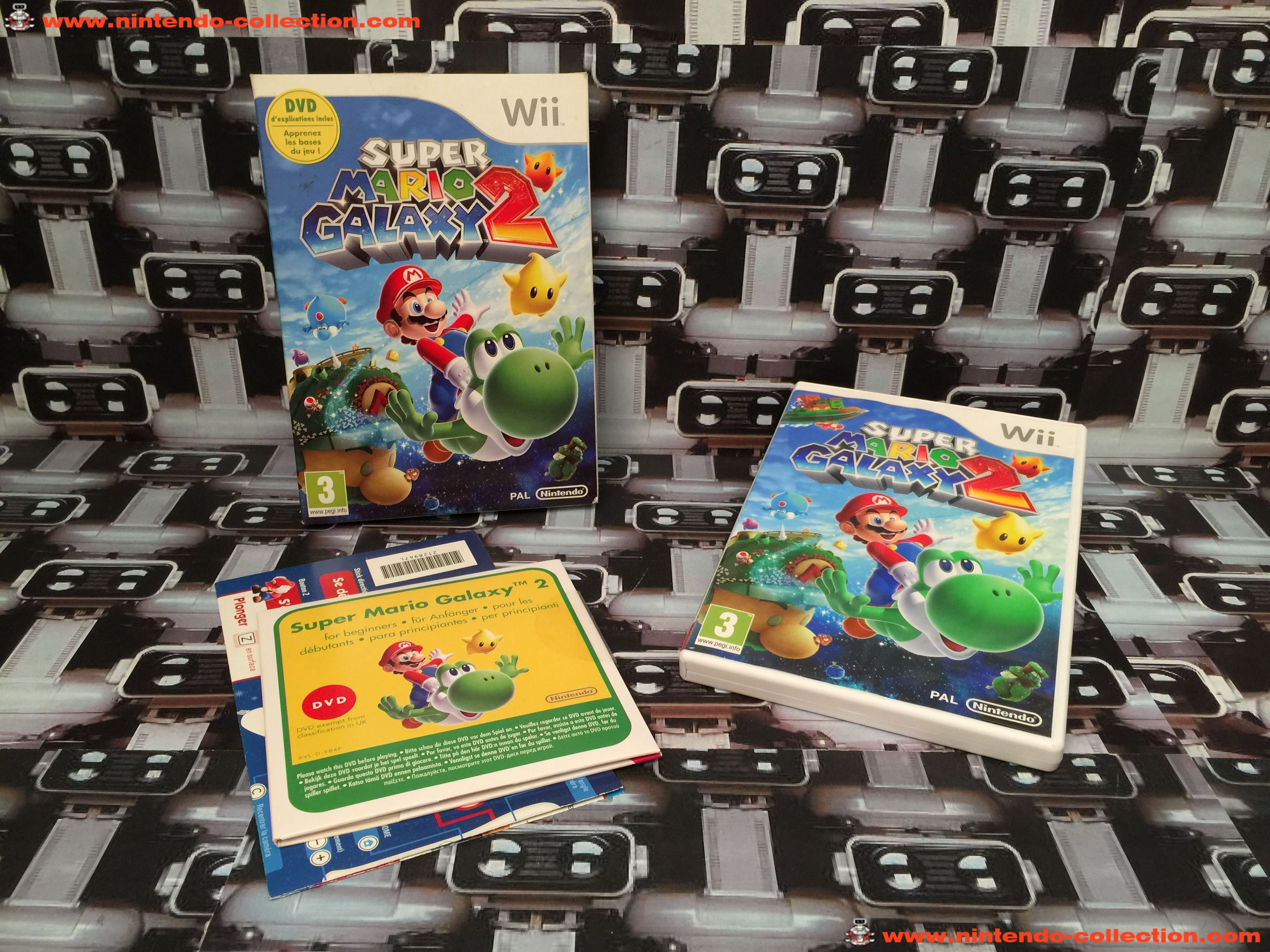 www.nintendo-collection.com - Wii Game Jeu Super Mario Galaxy 2