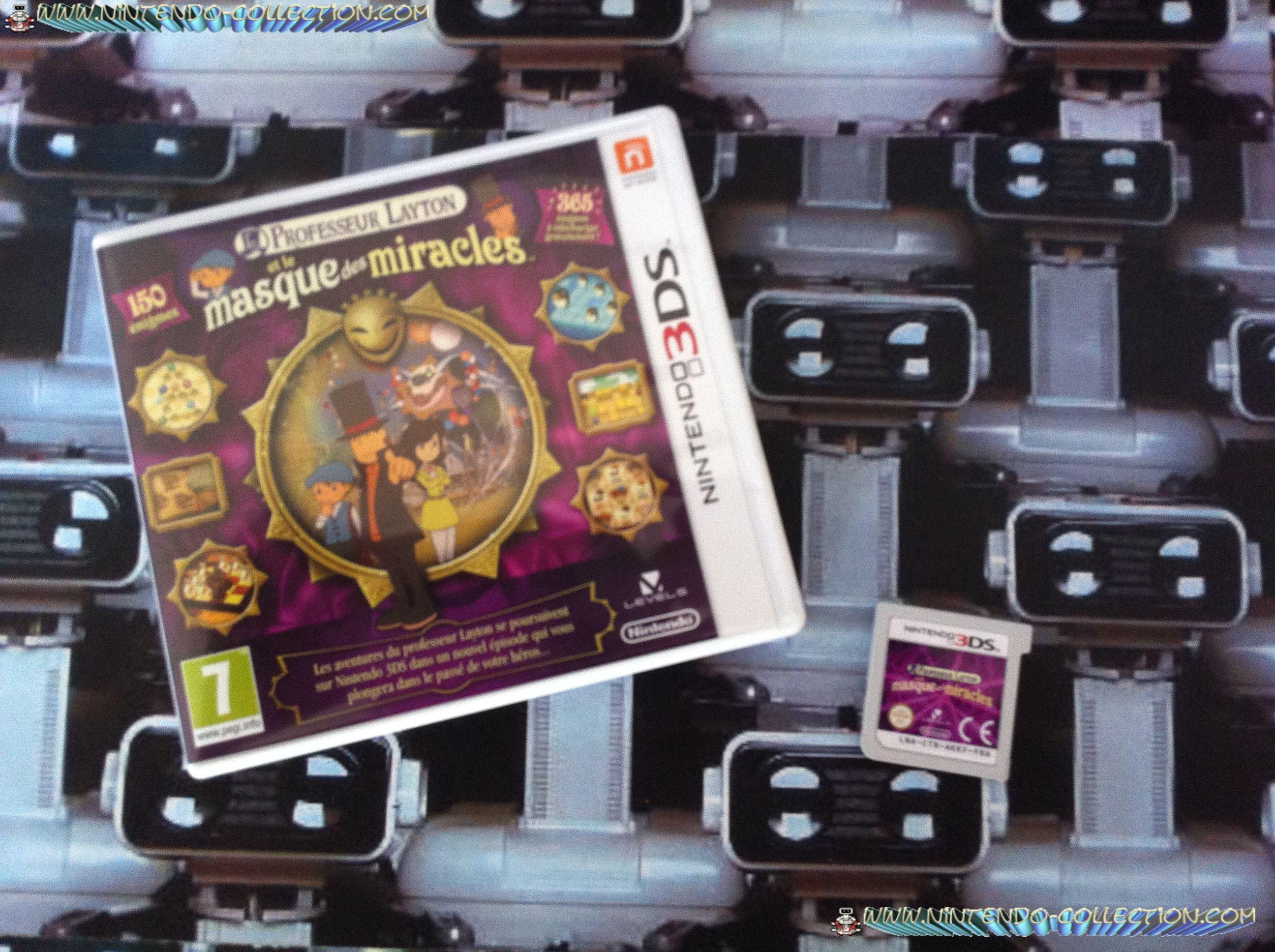 www.nintendo-collection.com - Professeur Layton et le masque des miracles 3DS