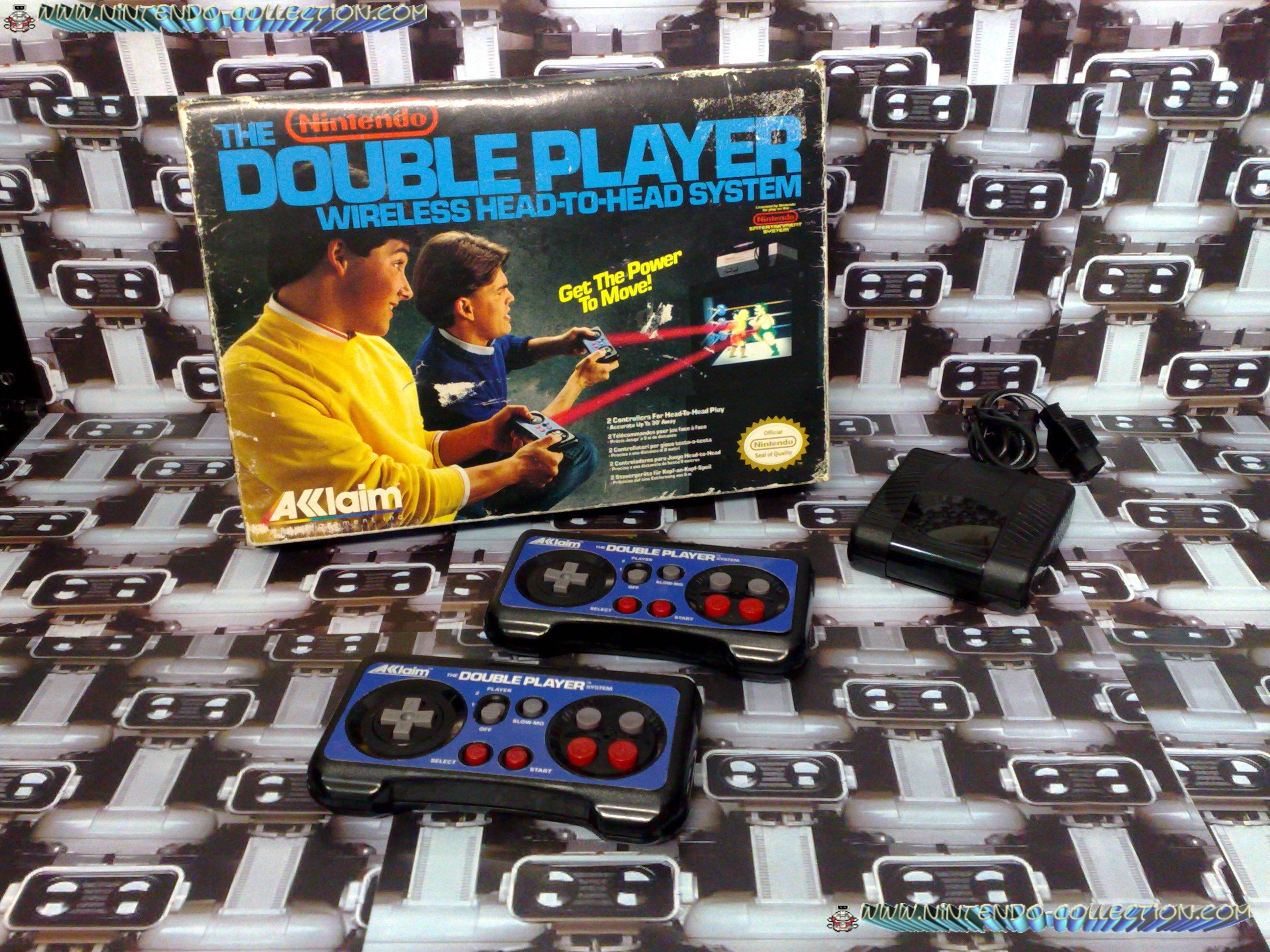 www.nintendo-collection.com - Nintendo NES Double Player - Accessoire en boite FR- Accesory in box F