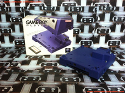 www.nintendo-collection.com - Gamecube Gameboy Player Purple Violet