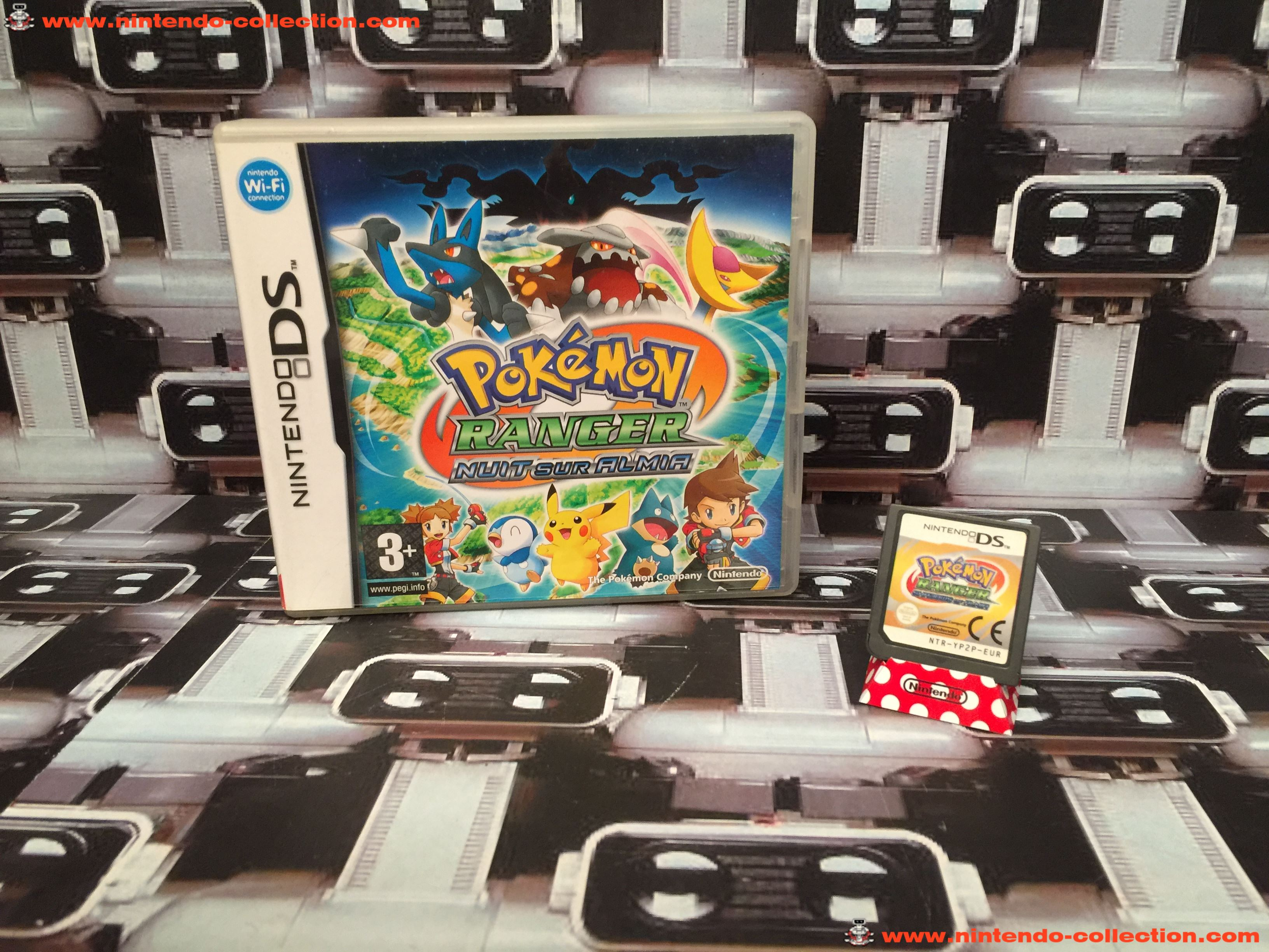 www.nintendo-collection.com - Nintendo DS Jeux Game Pokemon Ranger Nuit sur Almia Euro