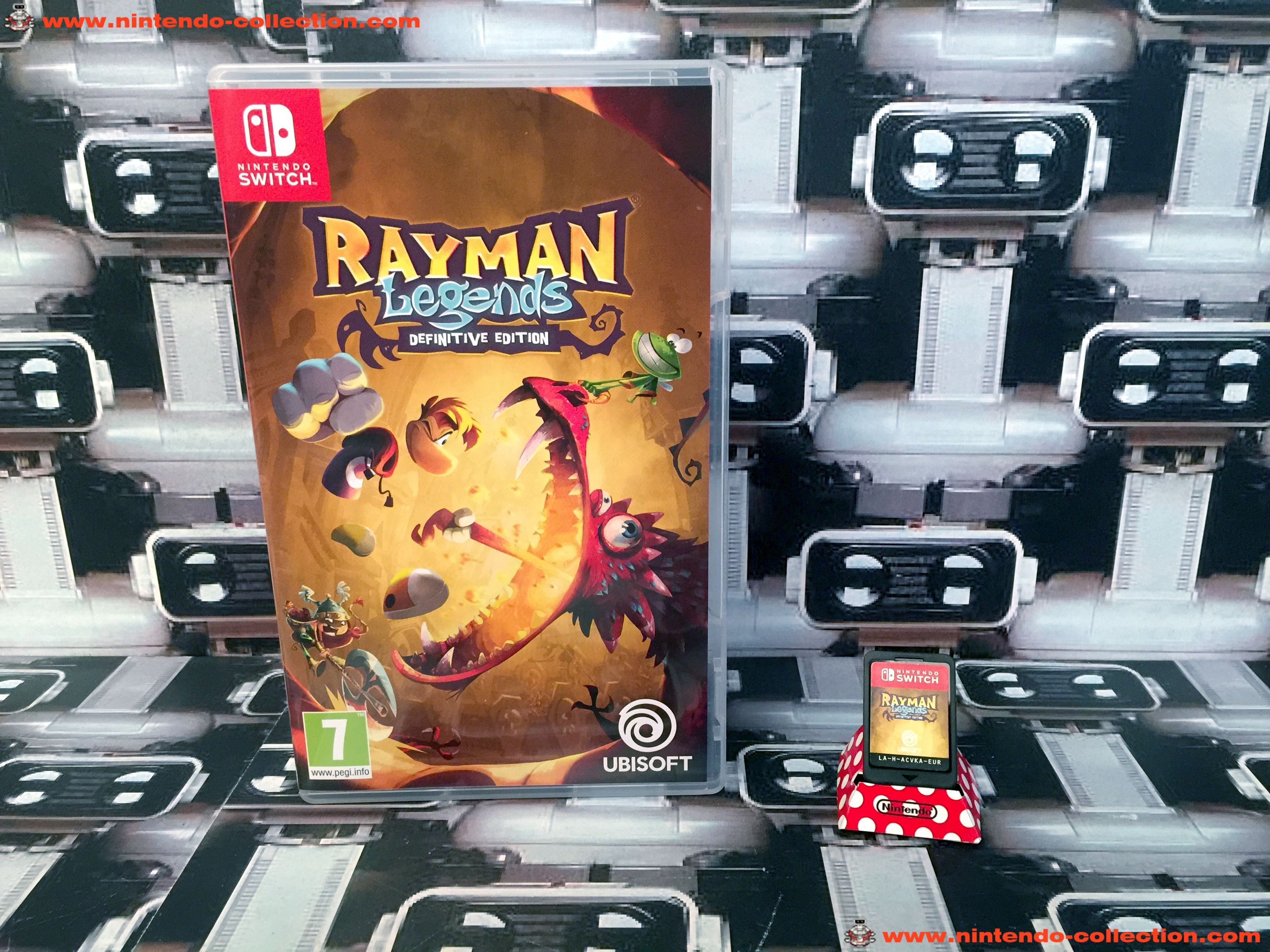 www.nintendo-collection.com - Nintendo Switch Jeux Rayman Legends Definitive Edition