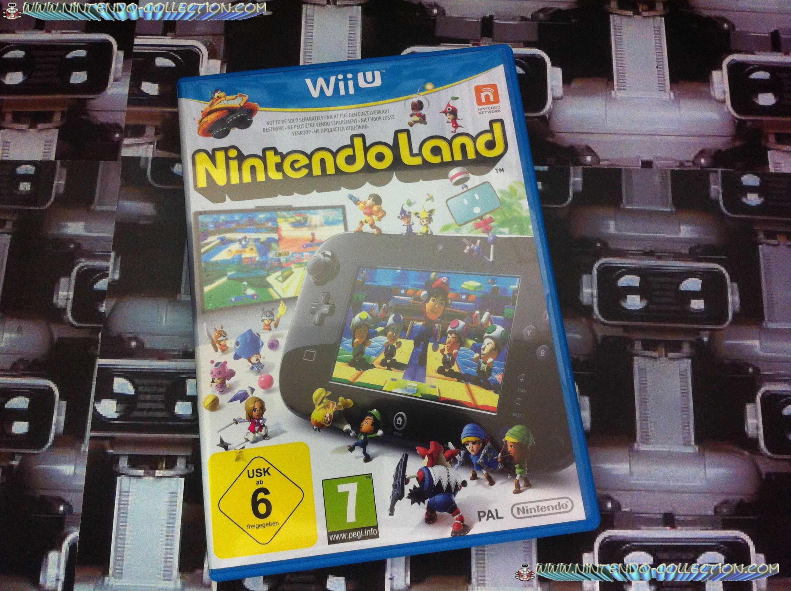 www.nintendo-collection.com - Wii U Game Jeu Nintendoland