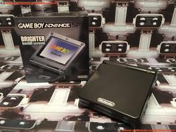 www.nintendo-collection.com - Gameboy Advance GBA SP Black Noir edition Singapour Singapore - 01