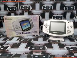 www.nintendo-collection.com - Gameboy Advance GBA Silver Platinium Argent Grise Japanese Japan Japon