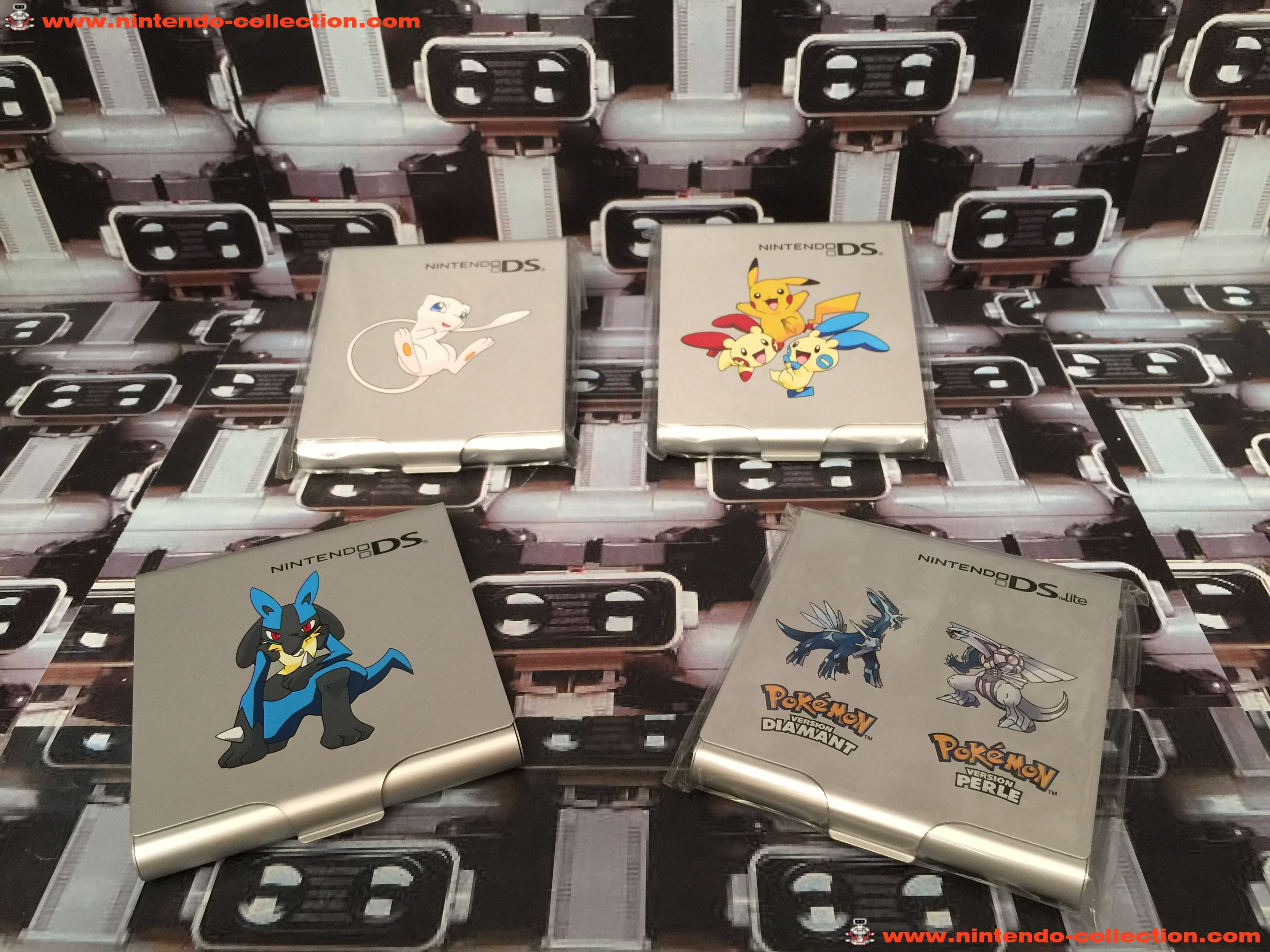 www.nintendo-collection.com - Nintendo DS Club Nintendo Pokmeon Case
