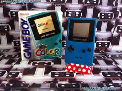 www.nintendo-collection.com - Gameboy Color Bleu green bleu vert edition auropean europe