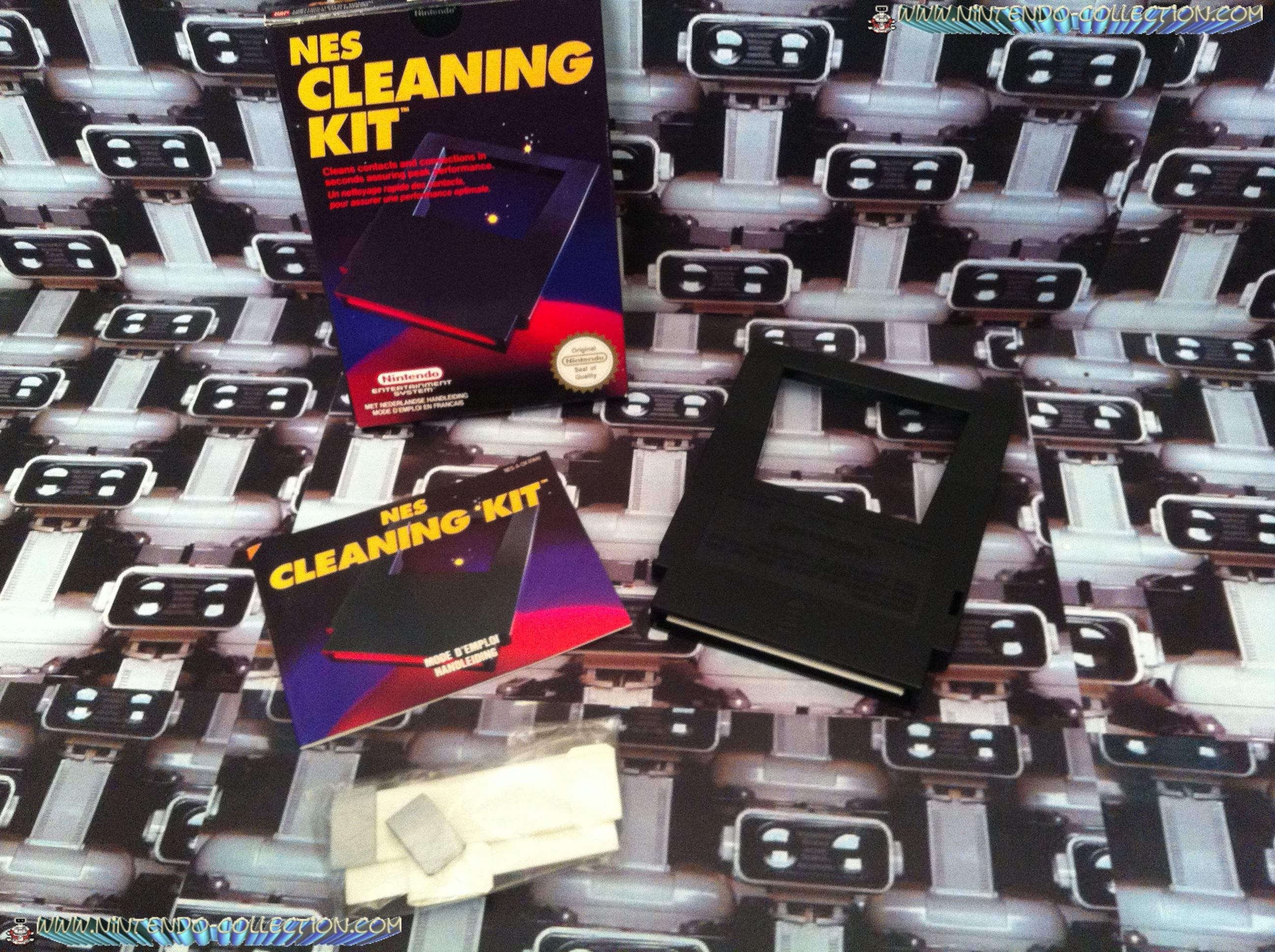 www.nintendo-collection.com - NES Cleanning Kit