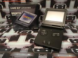 www.nintendo-collection.com - Gameboy Advance GBA SP Black Noir edition Singapour Singapore - 03