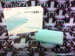 www.nintendo-collection.com - DS Lite aqua blue european version europe