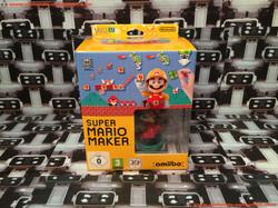 www.nintendo-collection.com - Wii U Game Jeux Super Mario Maker limited edition amiibo Mario 30th -