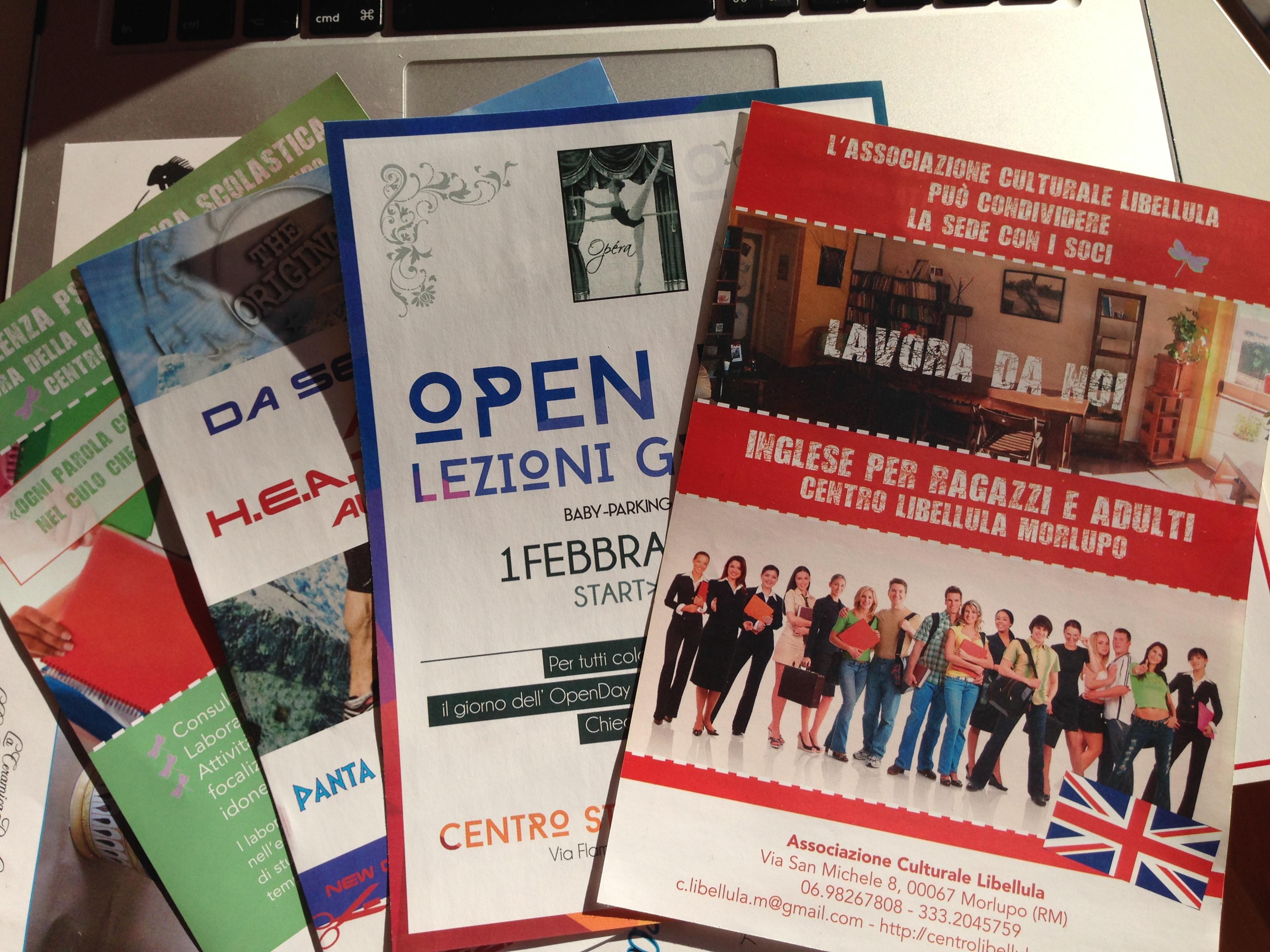 Publicity flyers