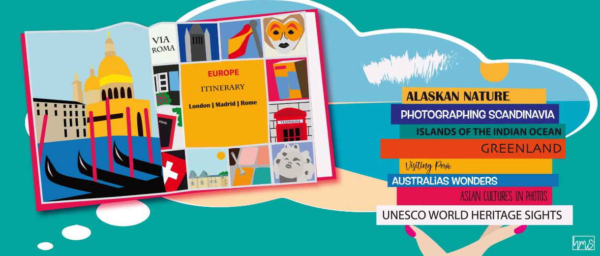 Travel photobooks for CrunchyTales