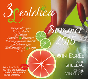 Do fresh lime and delicious orange go together? Verde lime freschissimo e arancione deliziosamente e