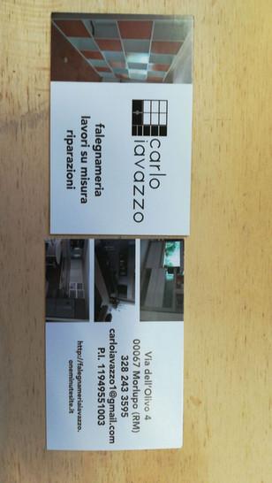 Carpenter logo and business cards