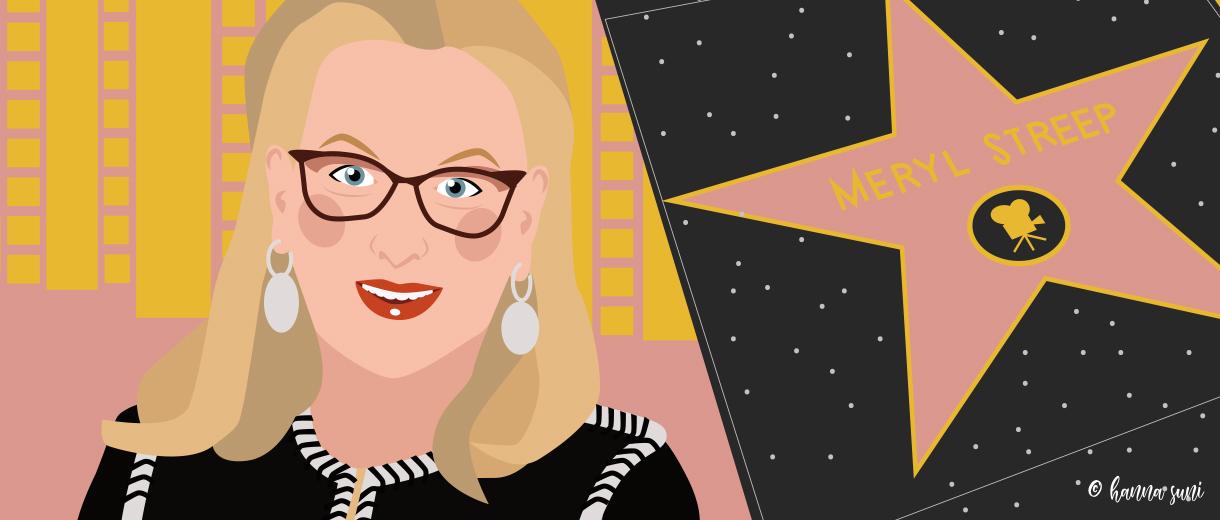 Meryl Streep for CrunchyTales