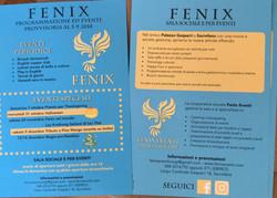 Flyers for Fenix Eventi