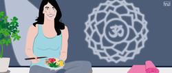Yoga chef for CrunchyTales