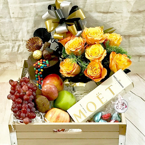 Roses for Roses Celebration Hamper