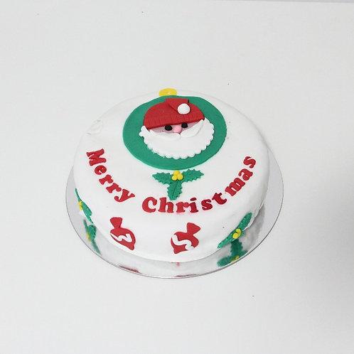 Christmas Cake (Orange n Dulce de Leche)