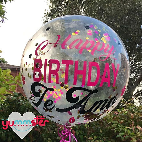 Personalised Clear Bubble Balloon