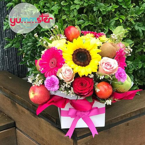 Fruit n Flower Bouquet
