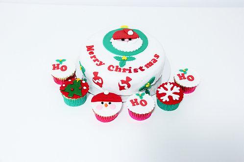 Christmas Cake n Cupcakes