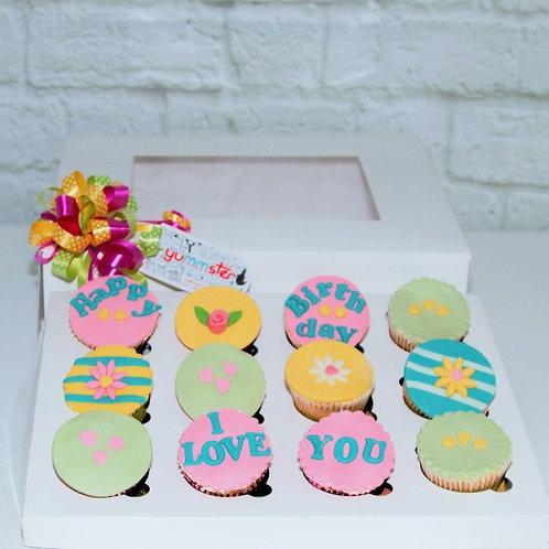 12x Custom Cupcakes